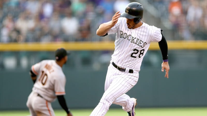 Senzatela gets 9th win as Rockies beat Giants, 10-8