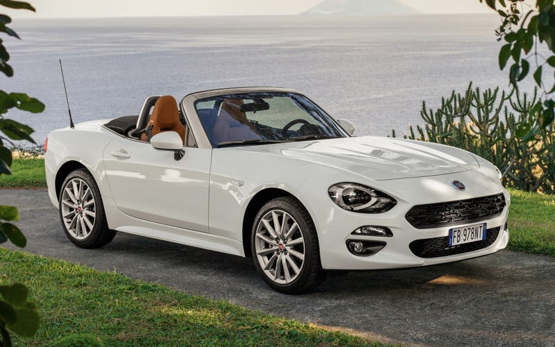 Illustration for article titled Test drove a 124 Spider.