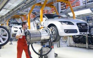 Illustration for article titled European Cars Using More Aluminum und Less Shteel