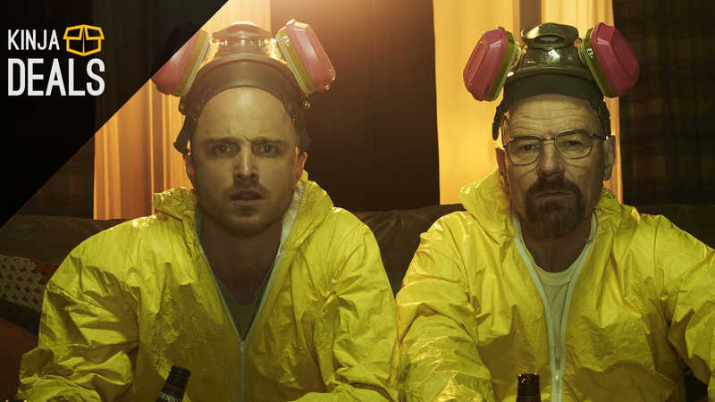 Illustration for article titled You Don't Need To Be a Meth Kingpin To Afford The Complete Breaking Bad Blu-ray