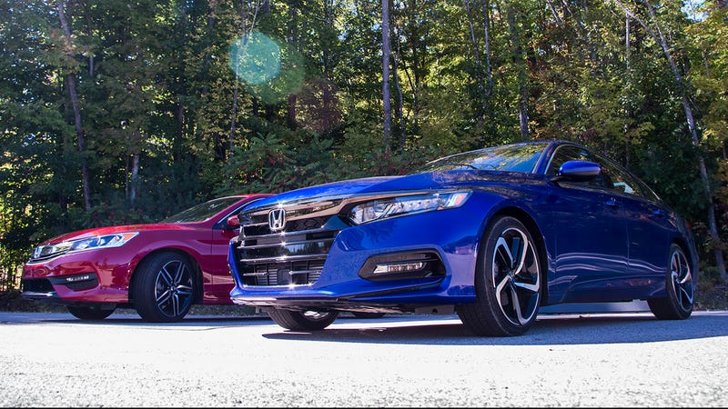 Here S Where The 2018 Honda Accord Really Beats The Old One