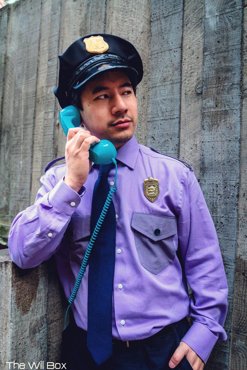cosplay Fnaf security guard