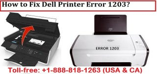 Illustration for article titled How to Fix Dell Printer Error Code 1203?