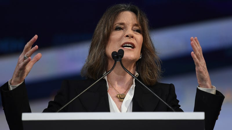 Illustration for article titled Pack Up the Crystals: Marianne Williamson Suspends Her Presidential Campaign