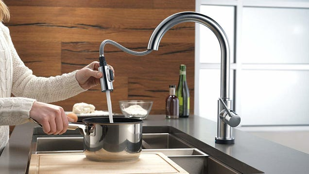 Delta s Touch2O Is Our Readers  Favorite Kitchen Faucet