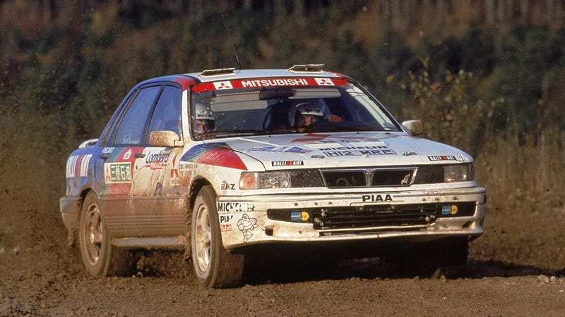Kenneth Eriksson running the 1991 RAC Rally