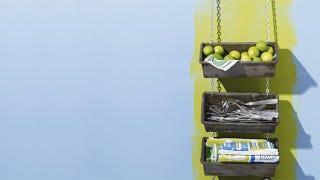 Illustration for article titled Make a Hanging Storage Space with Bread Loaf Tins