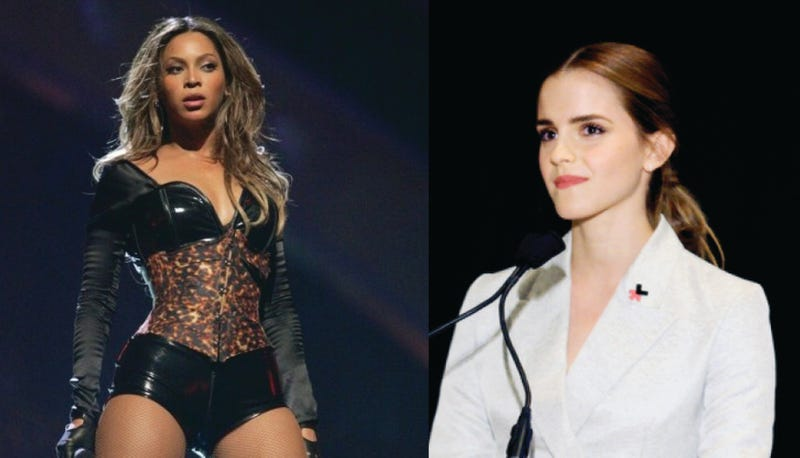 Illustration for article titled Supporting Emma Watson at Beyoncé's Expense