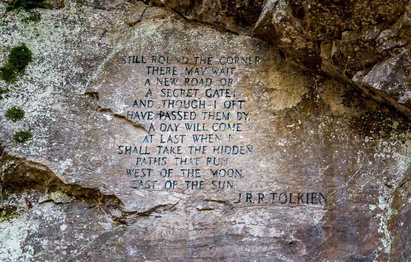 Illustration for article titled Hay una cita de Tolkien escondida en uno de los parques más impresionantes de Estados Unidos
