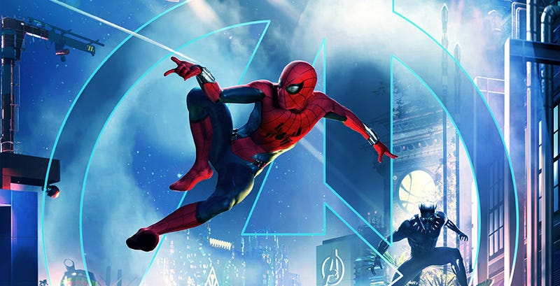 Spider-Man will be flying through California Adventure in 2020.