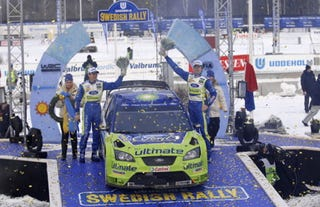 Illustration for article titled 2007 Uddeholm Swedish Rally, Final