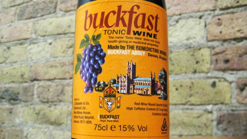 Illustration for article titled Buckfast Tonic Wine