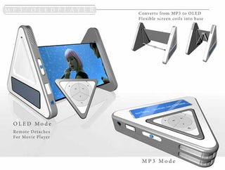 Illustration for article titled Design Concept: Tripod Media Player