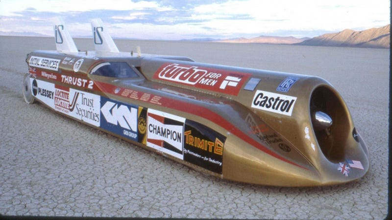 Illustration for article titled This Is What It's Like To Drive A Car 633 MPH