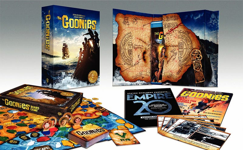 Illustration for article titled The Goonies 25th Anniversary Collector's Edition Blu-ray/DVD