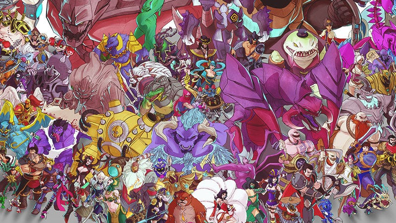 It Took 191 Hours To Draw These 131 League Of Legends Champions