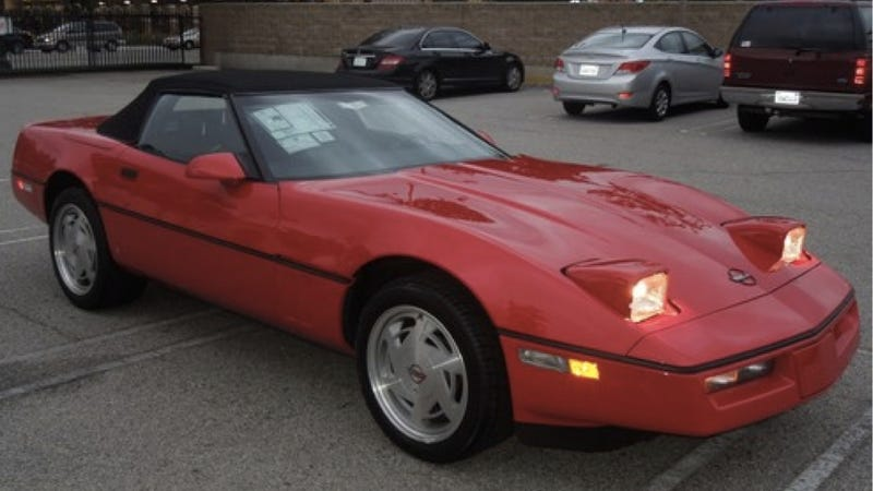 Illustration for article titled After 23 Years In Storage, Stolen '89 Corvette Sells For Original Sticker Price