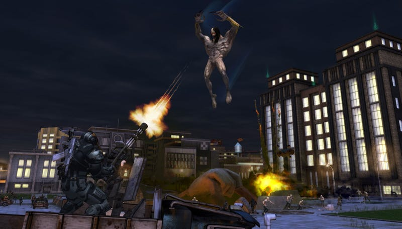 Illustration for article titled New Crackdown 2 Screenshots, Artwork