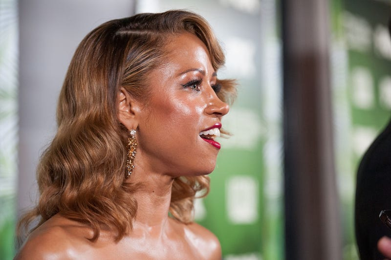 Stacey Dash, coated with a soft sheen of lies, in 2014 in Los Angeles
