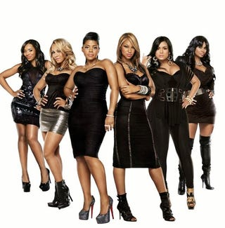 Cast members from Season 2 of VH1's Love and Hip Hop