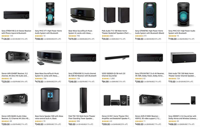 Tournament Sound Sale | Amazon