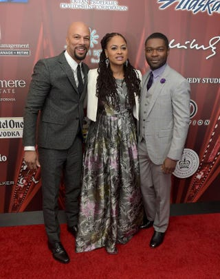 Common, Ava DuVernay and David Oyelowo attend a screening of Selma Jan. 2, 2015, at Palm Springs High School in Palm Springs, Calif. Jason Kempin/Getty Images for PISFF