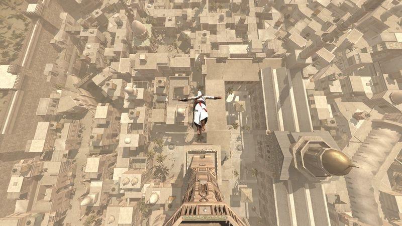 Illustration for article titled Heartless scientists slander the hard-working haystacks of Assassin's Creed