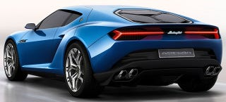 Illustration for article titled Hybrid Lamborghini Asterion Shelved Because It Doesn't Matter
