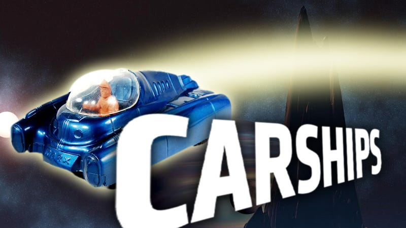 Illustration for article titled Famous Spaceships And The Cars That Are Just Like Them