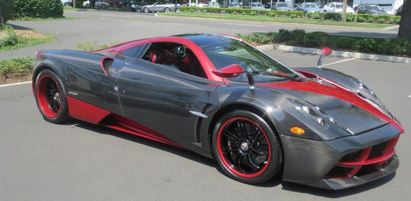 Is This The World S Ugliest Pagani Huayra