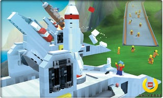 Illustration for article titled Lego Universe First In-Game Screenshots