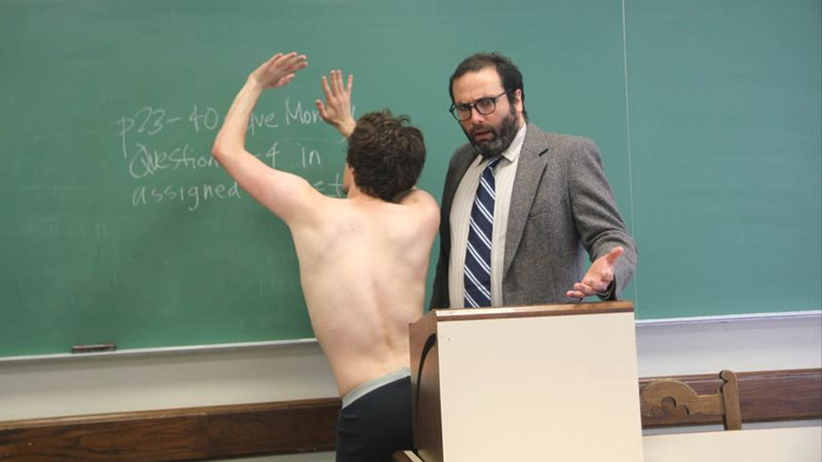Why Paying For A College Education, Showing Up To Class Nude, Gyrating Against The -5378