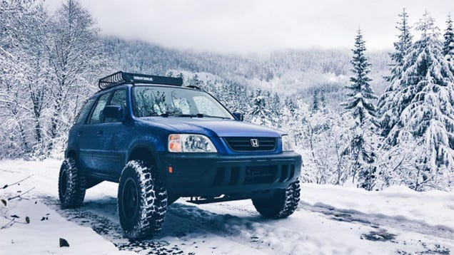 I Am Absolutely On Board With Off-Road Honda CR-Vs