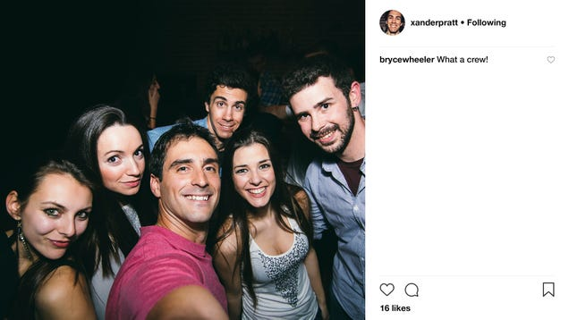 'What A Crew!' Comments Man On Instagram Photo Of Fucking Backstabbing Traitors Who Couldn't Be Bothered To Invite Him To Margarita Night