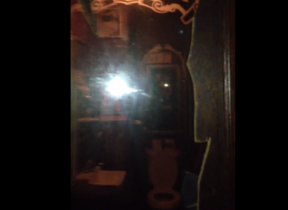 Tonight A Reader Tipped Us Off To Video Posted By Comic Tamale Rocks Who Uncovered Two Way Mirror In The Womens Bathroom At Chicago Bar Cigars And