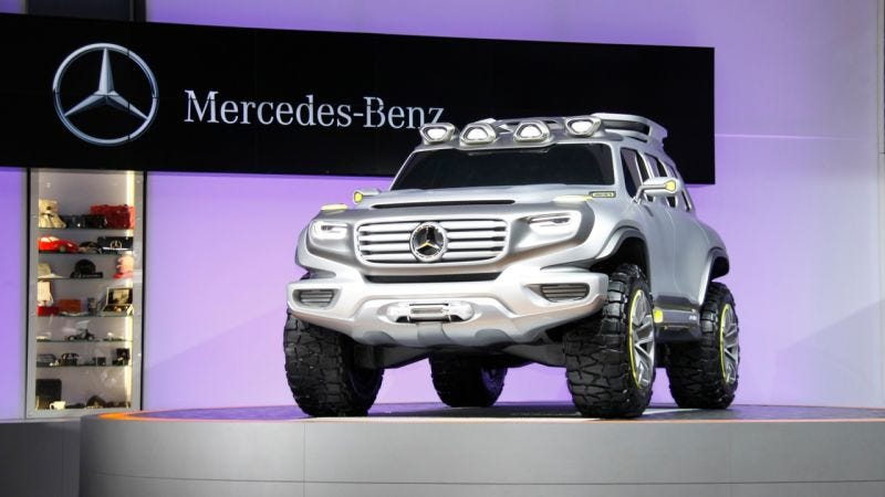 Illustration for article titled Mercedes Is Making A G-Wagon Crossover Purpose Built For Rich Road-Going: Report