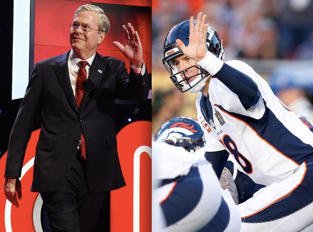 Let Us Not Forget That Peyton Manning Loves Jeb Bush