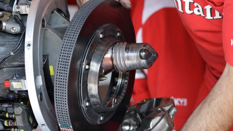 Formula 1 S Brakes Are Pushing The Very Edges Of Human