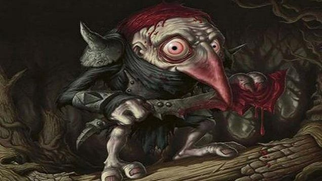 Ten Freaky Types of Scary Fairies