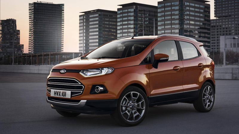 Illustration for article titled The EcoSport Is Ford's Smallest European SUV