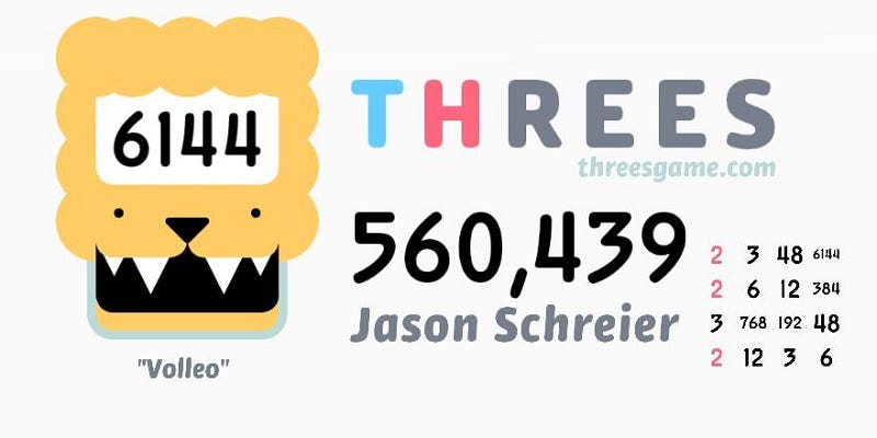 Illustration for article titled You Probably Cannot Beat My Threes Score