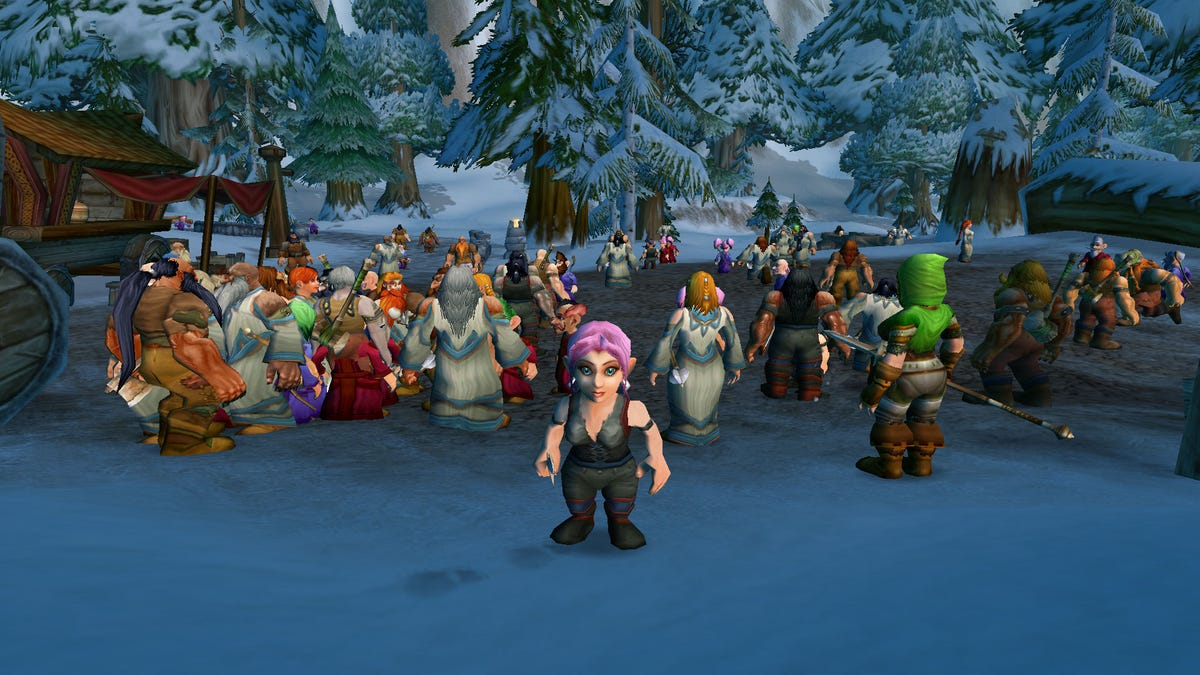 World Of Warcraft Classic's Rocky Launch Is Kind Of