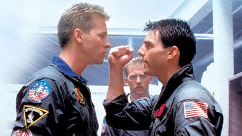 Illustration for article titled Top Gun feels the need, the need to return to theaters