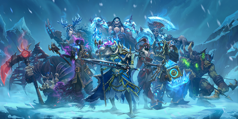 Illustration for article titled Hearthstone's Next Expansion Is All About The Lich King