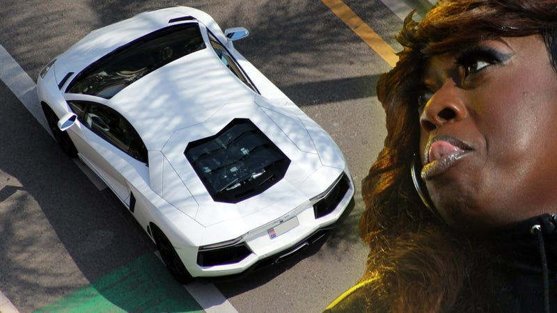 Illustration for article titled Missy Elliot Sues Dealership For Her Lamborghini Aventador