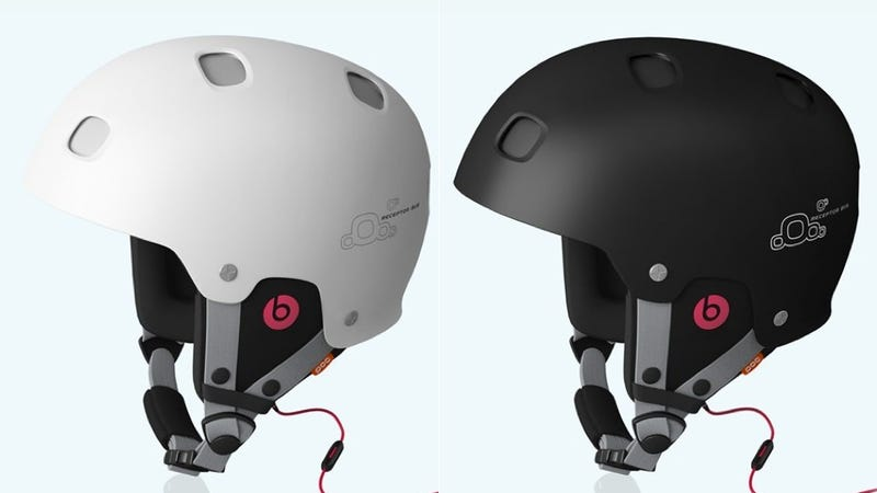 Illustration for article titled Beats By Dre Headphones Are Going in Helmets Now