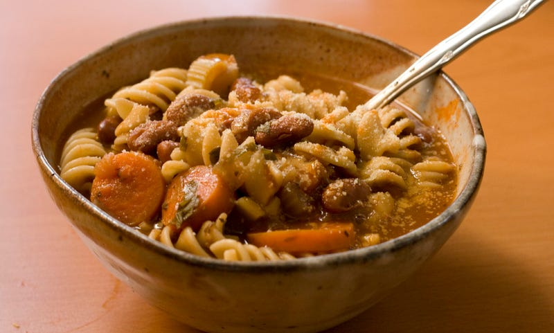 Minestrone, una sopa italiana. Imagen: Robert Judge / Flickr