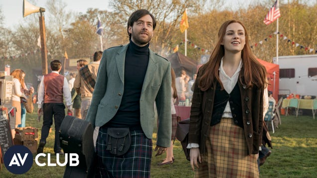 Outlander's Sophie Skelton and Richard Rankin on Brianna and Roger's