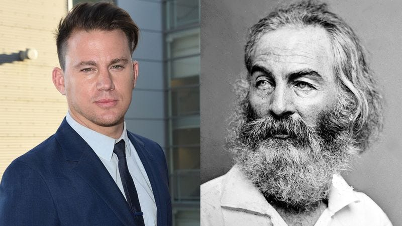 Illustration for article titled Awesome! Channing Tatum Has Been Cast As Walt Whitman In The Next James Bond Movie