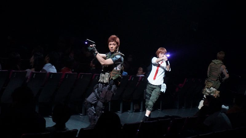 Illustration for article titled First Look at the Resident Evil Stage Play